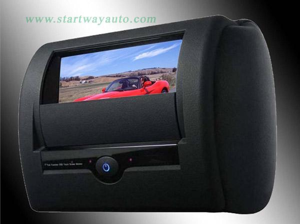 Car Headrest Motorized Sliding Shield Headr Startway