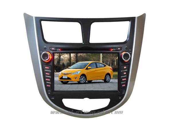 Hyundai Verna DVD