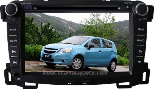 Chevrolet Sail auto DVD